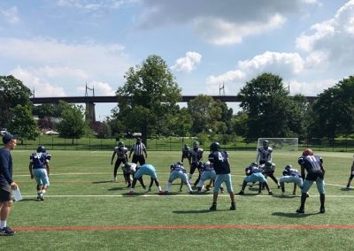 NYC Lions Scrimmage Aug. 4th 2019